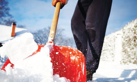 Shoveling snow can increase the risk of heart attack