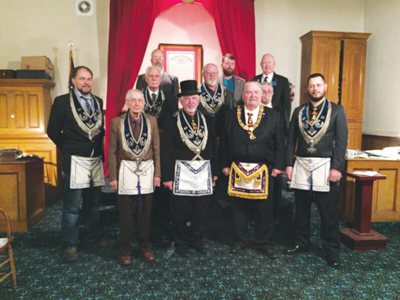 Eureka Masons installation of officers