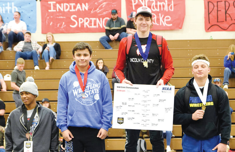 Dolezal takes silver medal  at state wrestling