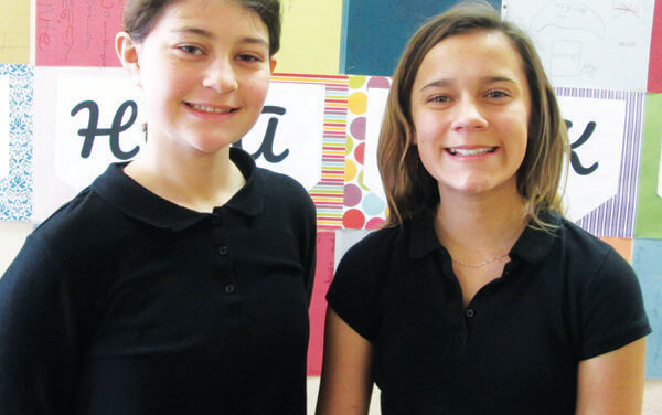 Williams and Bybee March Students of the Month