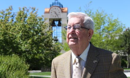 Great Basin College honors Dr. Hugh Collett