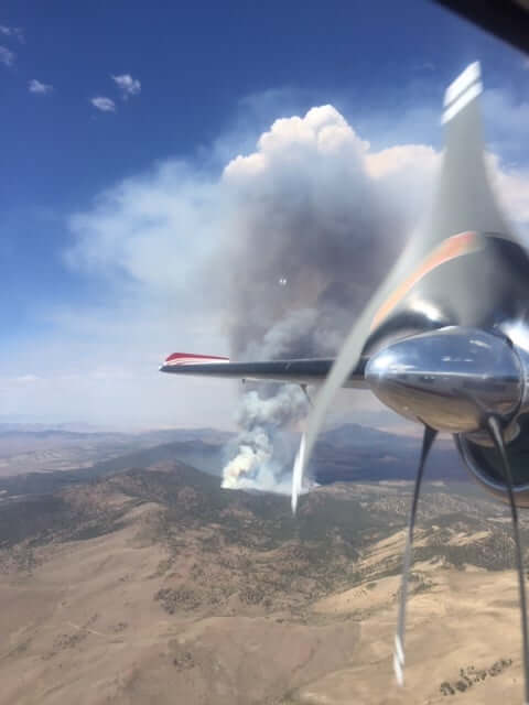 Baldy Fire continues to burn damaging 1,439 acres
