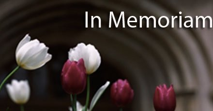In Memoriam – Gloria J. Martinez