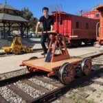 Nevada Northern Railway to offer a special ride on a handcar this weekend
