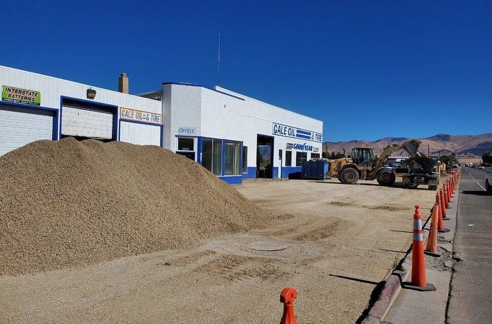 CMC Tire opening in old Gale Oil location