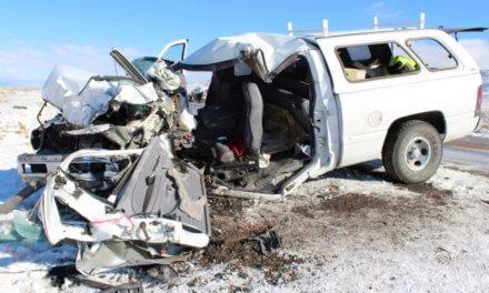 Fatal Crash on US93 north of McGill