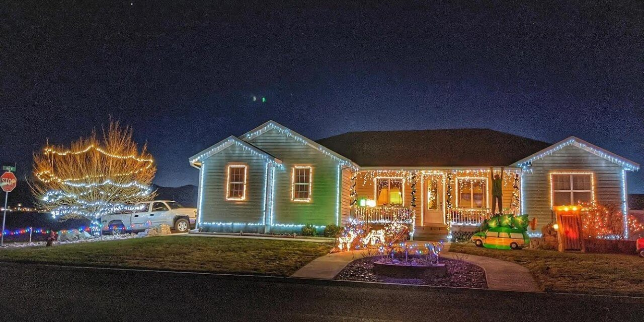 Parade of Lights show off decorated homes